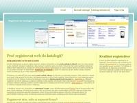 Informace o registraci do katalogů